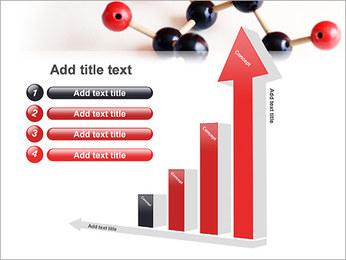 Modèle moléculaire Modèles des présentations  PowerPoint - Diapositives 6