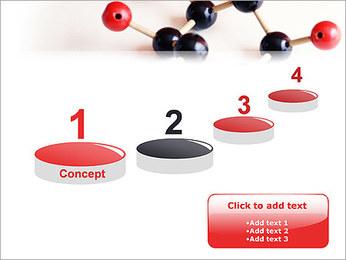 Modèle moléculaire Modèles des présentations  PowerPoint - Diapositives 7