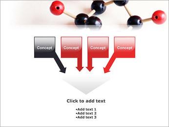 Modèle moléculaire Modèles des présentations  PowerPoint - Diapositives 8