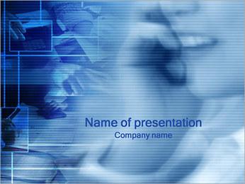 Mobiltelefon PowerPoint presentationsmallar