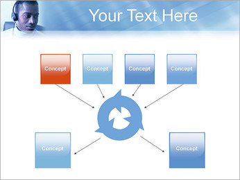 Call Center Plantillas de Presentaciones PowerPoint - Diapositiva 10
