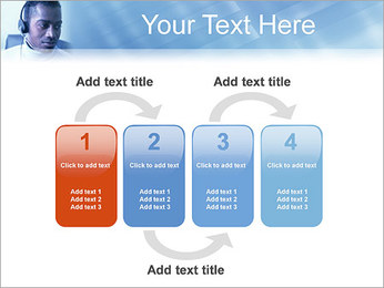 Call Center Plantillas de Presentaciones PowerPoint - Diapositiva 11