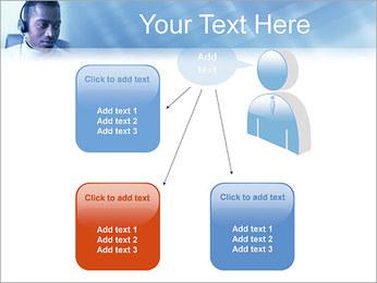 Call Center Plantillas de Presentaciones PowerPoint - Diapositiva 12