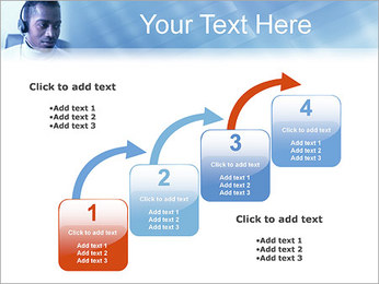 Call Center Plantillas de Presentaciones PowerPoint - Diapositiva 20
