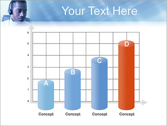 Call Center Plantillas de Presentaciones PowerPoint - Diapositiva 21