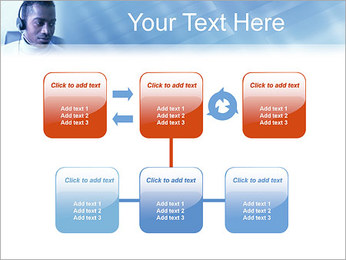 Call Center Plantillas de Presentaciones PowerPoint - Diapositiva 23