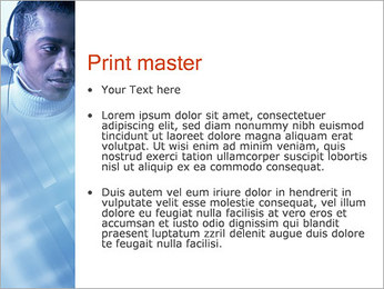 Call Center Plantillas de Presentaciones PowerPoint - Diapositiva 24