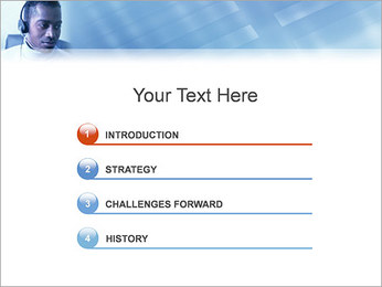 Call Center Plantillas de Presentaciones PowerPoint - Diapositiva 3