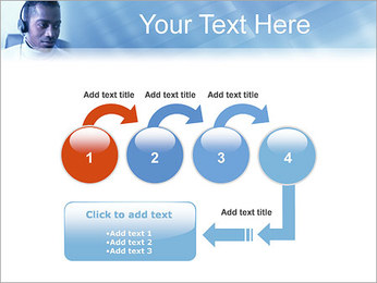 Call Center Plantillas de Presentaciones PowerPoint - Diapositiva 4