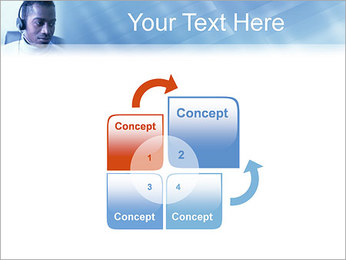 Call Center Plantillas de Presentaciones PowerPoint - Diapositiva 5