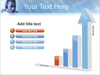 Call Center Plantillas de Presentaciones PowerPoint - Diapositiva 6
