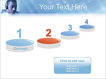 Call Center Plantillas de Presentaciones PowerPoint - Diapositiva 7
