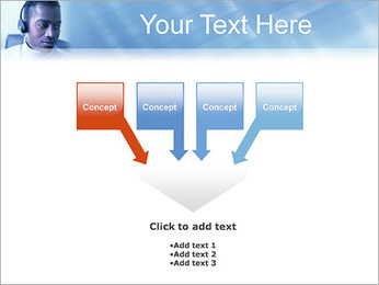 Call Center Plantillas de Presentaciones PowerPoint - Diapositiva 8