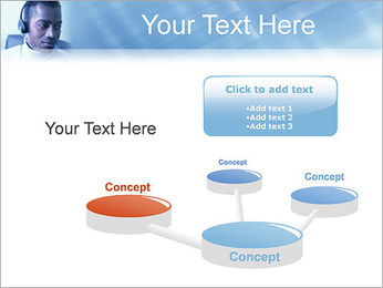 Call Center Plantillas de Presentaciones PowerPoint - Diapositiva 9