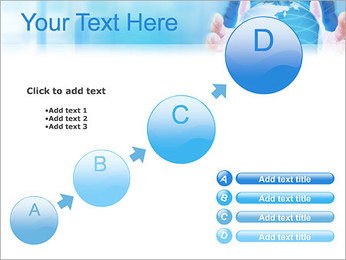 Crystal Globe PowerPoint Templates - Slide 15