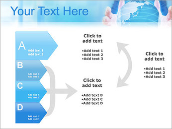 Crystal Globe PowerPoint Templates - Slide 16