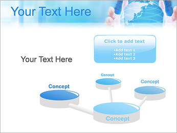 Crystal Globe PowerPoint Templates - Slide 9