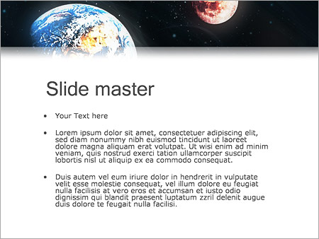 earth mars powerpoint template backgrounds google slides id