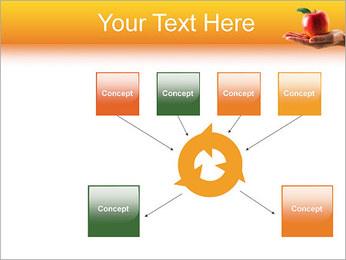 Red Apple Modèles des présentations  PowerPoint - Diapositives 10