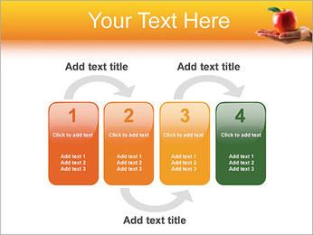 Red Apple Modèles des présentations  PowerPoint - Diapositives 11