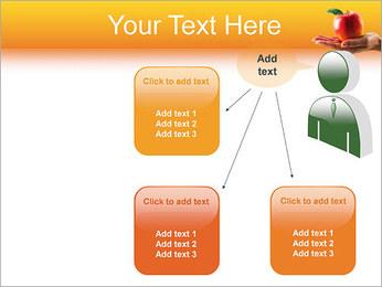 Red Apple Modèles des présentations  PowerPoint - Diapositives 12