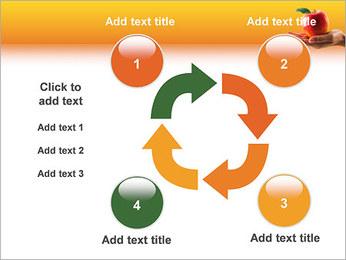 Red Apple Modèles des présentations  PowerPoint - Diapositives 14