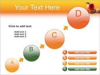 Red Apple Modèles des présentations  PowerPoint - Diapositives 15