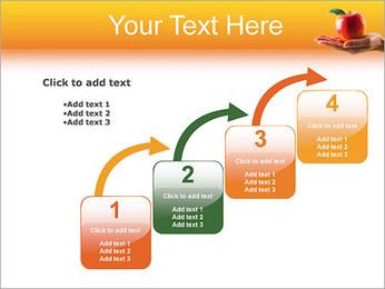 Red Apple Modèles des présentations  PowerPoint - Diapositives 20