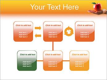 Red Apple Modèles des présentations  PowerPoint - Diapositives 23