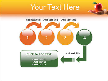 Red Apple Modèles des présentations  PowerPoint - Diapositives 4