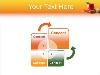 Red Apple Modèles des présentations  PowerPoint - Diapositives 5