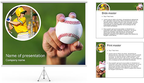Baseball PowerPoint Template Backgrounds ID 0000000242 – Baseball Powerpoint Template