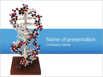 Double hélice d'ADN Modèles des présentations  PowerPoint