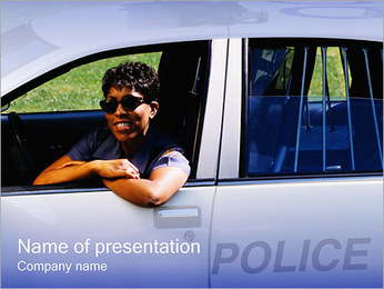 Police Service PowerPoint Template