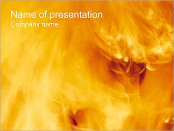 Feu Modèles des présentations  PowerPoint - Diapositives 1