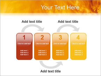 Feu Modèles des présentations  PowerPoint - Diapositives 11