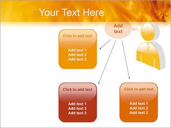 Feu Modèles des présentations  PowerPoint - Diapositives 12