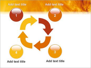 Feu Modèles des présentations  PowerPoint - Diapositives 14