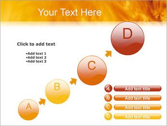 Feu Modèles des présentations  PowerPoint - Diapositives 15