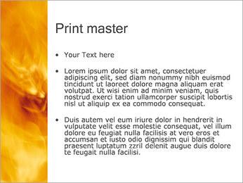 Feu Modèles des présentations  PowerPoint - Diapositives 24