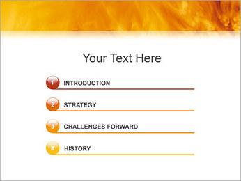 Feu Modèles des présentations  PowerPoint - Diapositives 3