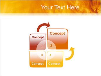 Feu Modèles des présentations  PowerPoint - Diapositives 5