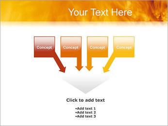 Feu Modèles des présentations  PowerPoint - Diapositives 8