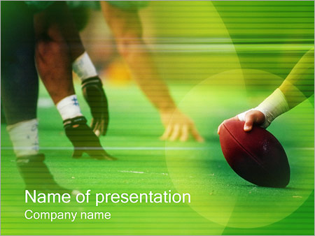 american football powerpoint template & backgrounds id 0000000258, Modern powerpoint
