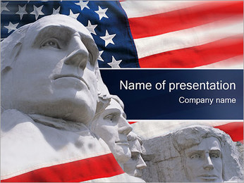National Memorial PowerPoint Template