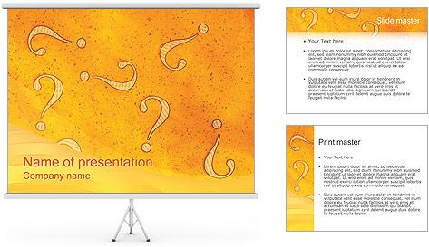 Question Modèles des présentations  PowerPoint