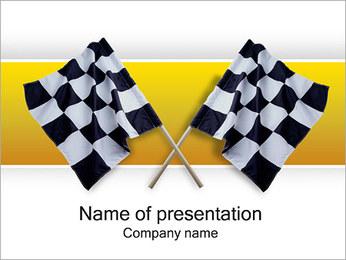 Signální vlajky PowerPoint šablony
