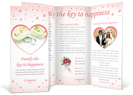Wedding Rings Brochure Template & Design Id 0000000283