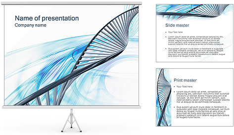Dna Powerpoint Templates. Dna Sequencing Powerpoint Template. Free