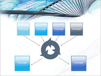 ADN lumière Modèles des présentations  PowerPoint - Diapositives 10